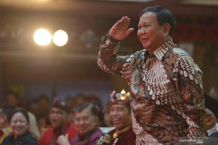 Prabowo Idul Adha Bersama Warga Hambalang