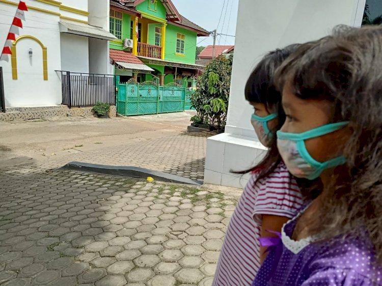 Kabut Asap Mengancam Kesehatan Anak Jambi
