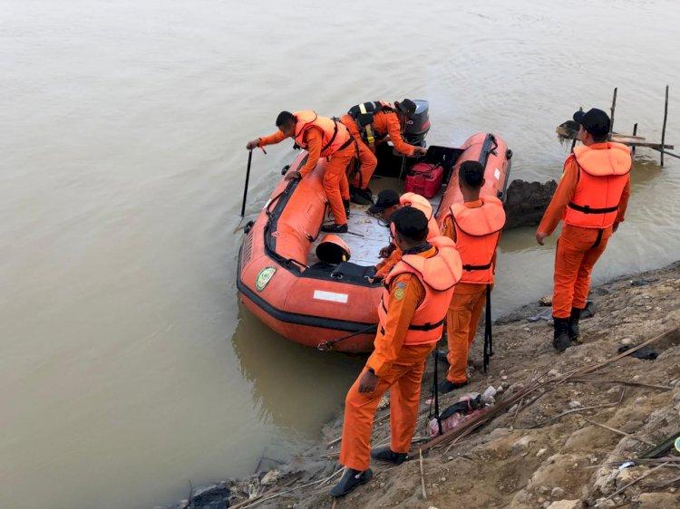 Cari Korban Tenggelam, Tim SAR Muarojambi Rencanakan Penyelaman