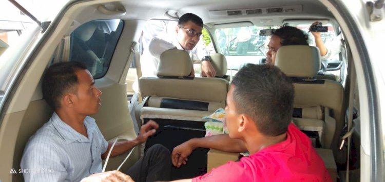 Penyelundup Ganja Ratusan Kilo Sempat Kabur, Polisi Tembak Kaki Pelaku