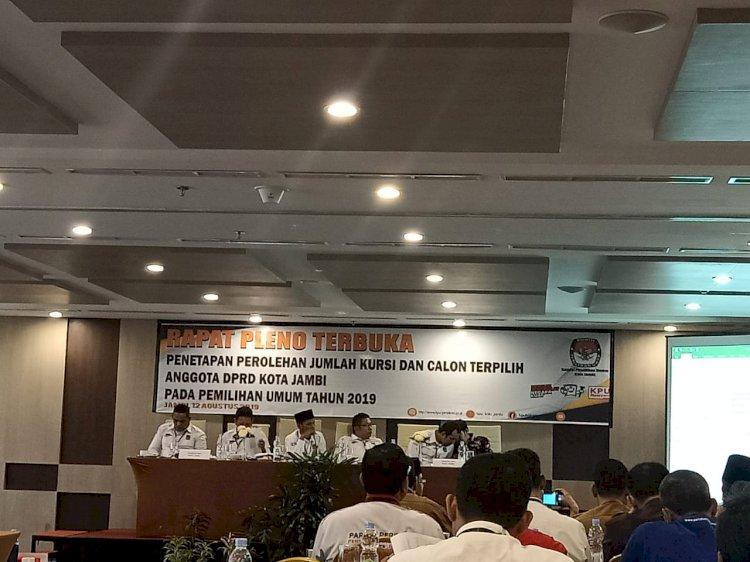 PAN dan PKPI Tak Hadiri Pleno Penetapan Perolehan Kursi dan Suara