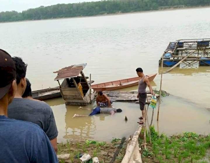 BREAKING NEWS!! Dua Hari Pencarian, Korban Tenggelam di Pematangpulai Ditemukan