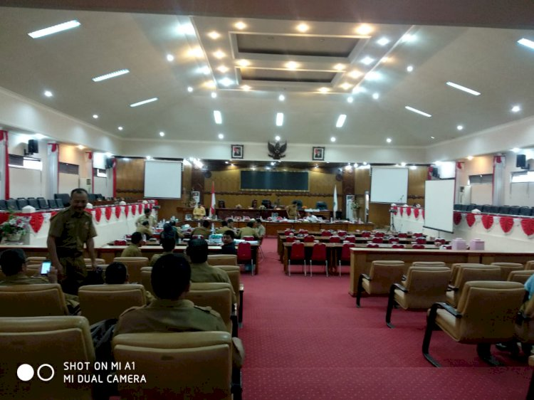 Anggota Banggar DPRD Tanjabbar Banyak Tak Hadir, Rapat Ditunda