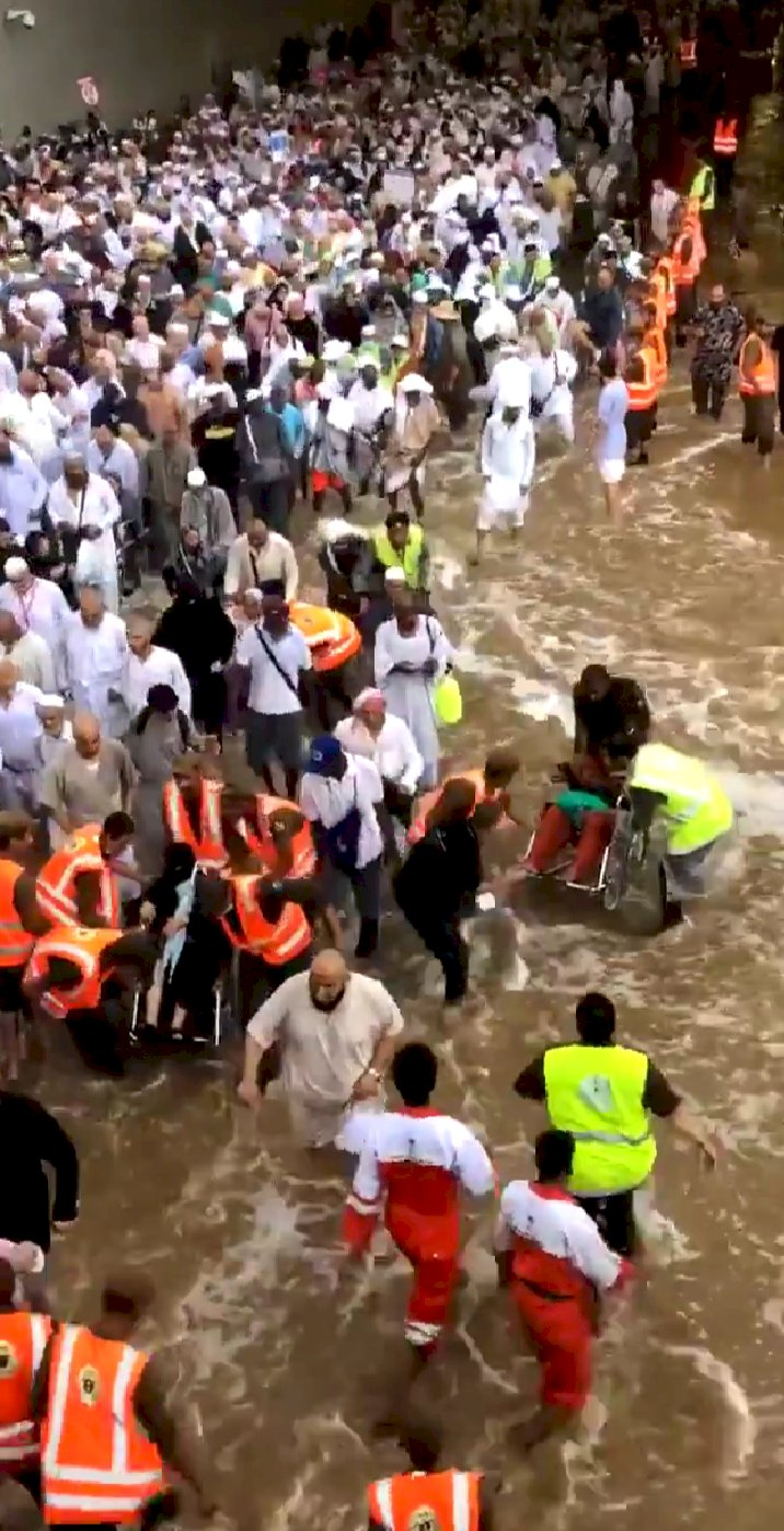 Beredar Video Banjir di Mina, Betulkah Situasi Itu?
