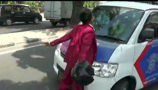 Viral Siswa SMK di Medan Mengamuk Ketika Ditilang Polisi
