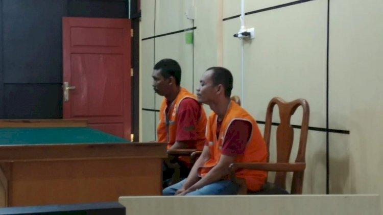 Curi Biji Karnel di PT CKT, Dua Pemuda Diseret ke Penjara