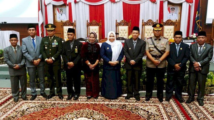 DPRD Muarojambi Gelar Paripurna Istimewa Dengarkan Pidato Kenegaraan Presiden Joko Widodo