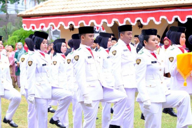 13 Pekerja Migran Jadi Paskibra di Johor Malaysia
