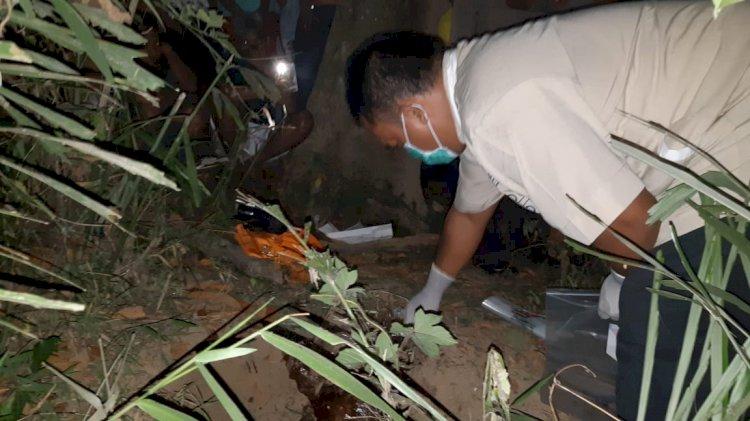 GEGER!! Warga Temukan Jasad Bayi di Tepi Sungai Batang Merangin