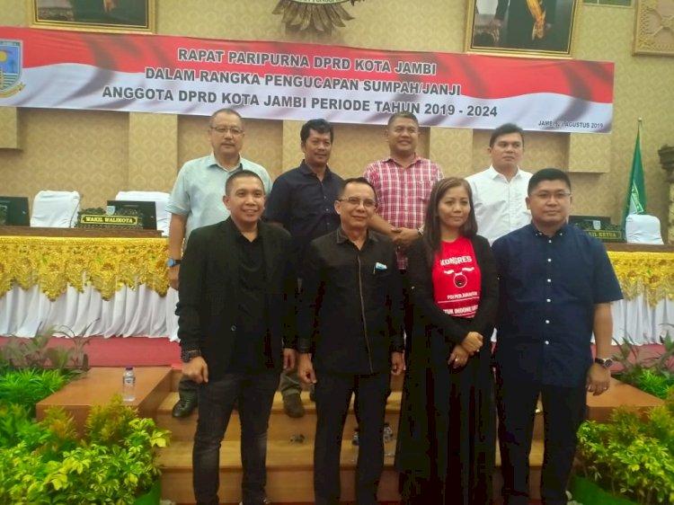 10 Nama Jadi DPRD Kota Jambi Tiga Periode
