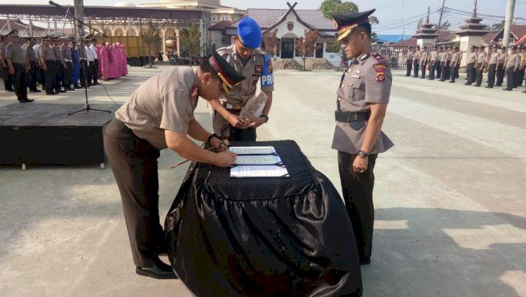 Kompol Wirmanto Dinata Resmi Jabat Wakapolres Tanjab Barat