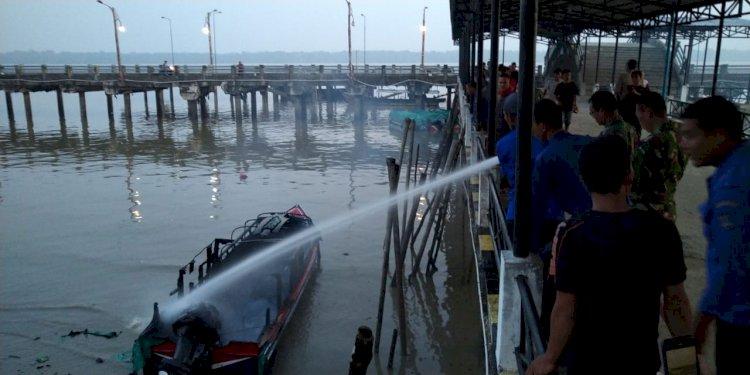 Dua Speed Boat Terbakar, Kerugian Ditaksir Ratusan juta