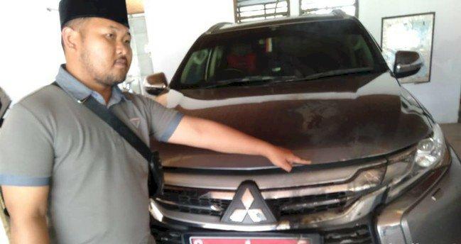 Mobil Dinas Bupati Tegal Diserang dan Dibakar OTD