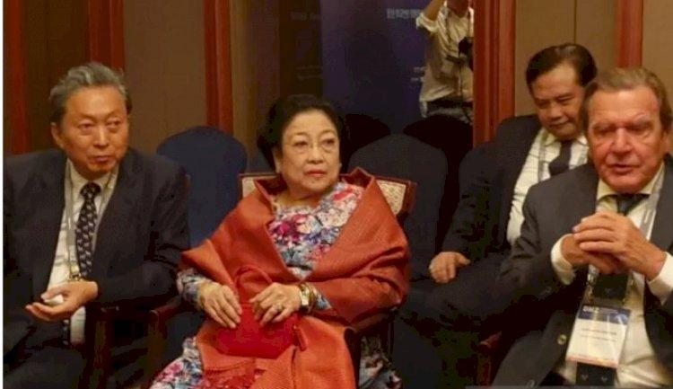 Megawati dan Mantan Pemimpin Dunia Bincang Soal Pemindahan Ibukota