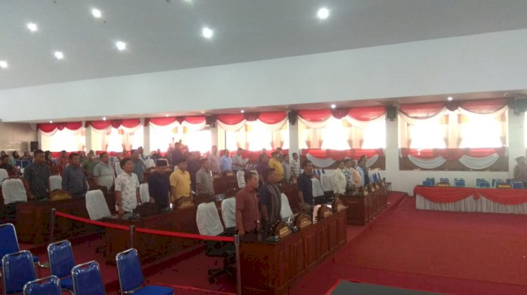 Pelantikan DPRD, Polres Merangin Turunkan 100 Personel