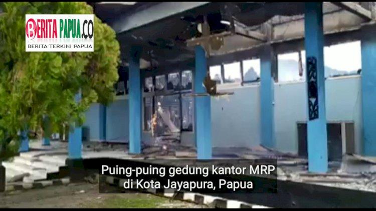Demo di Jayapura Rusuh, Gedung MRP Dibakar, Rutan Dijebol