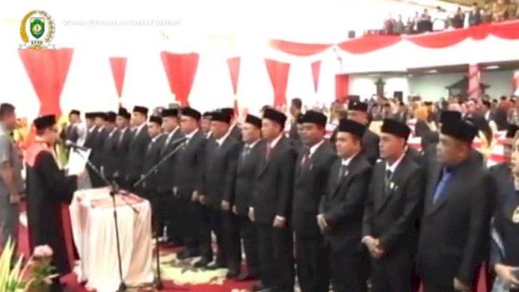 SAH! 35 Anggota DPRD Bungo Dilantik