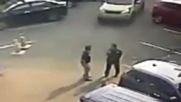 Viral! Oknum Polisi Aniaya Satpam di Hotel Jakbar