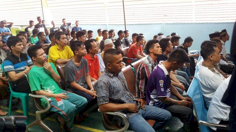 DUH! Satu Kamar di Lapas Bangko Harus Dihuni Puluhan Orang