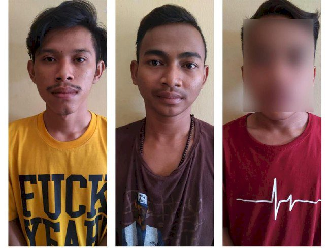 Koplak! Tiga Pemuda Ini Nyabu di Masjid Al Furqon
