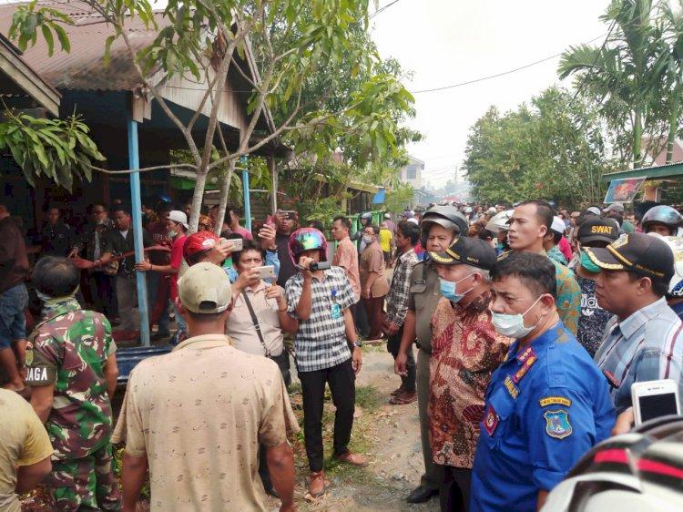 Bupati Cek Lokasi Kebakaran, 13 KK Kehilangan Rumah & Harus Mengungsi