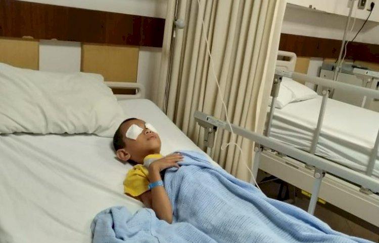 BREAKING NEWS!! Diduga Akibat Kabut Asap, Satu Anak Dirawat di RS Siloam Jambi