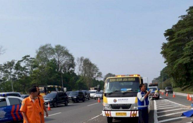 Tiga Orang Tewas Kecelakaan Tol Jagorawi