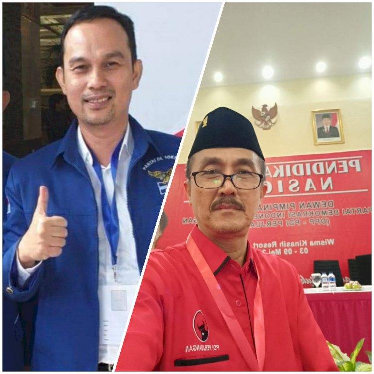 Demokrat & PDIP Tunjuk Aang Purnama dan Syahrial Gunawan Sebagai Wakil Ketua DPRD Sarolangun