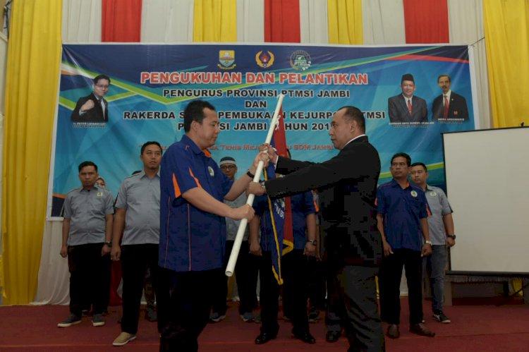 BBS Resmi Dilantik Menjadi Ketua Umum PTMSI Provinsi Jambi