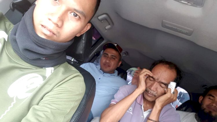 Mantan Kades Telukjambu Dieksekusi Kejari Muaro Jambi di Jeramba Bolong