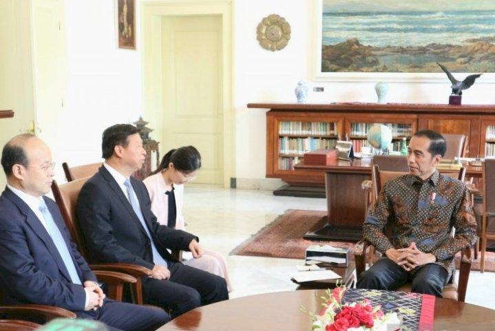 Presiden Senang Terima Kunjungan Penasehat Hubungan Luar Negeri Presiden China