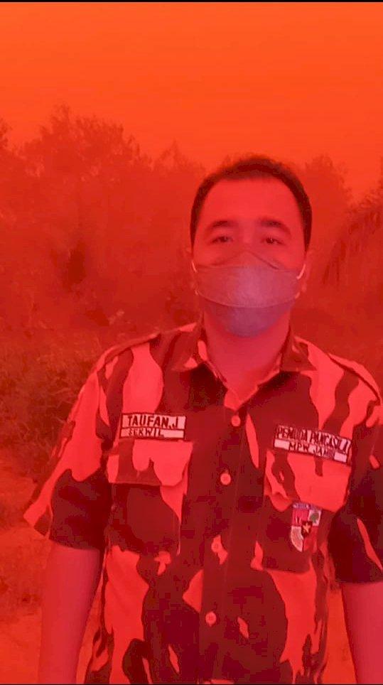 MPW Pemuda Pancasila: Pak Jokowi! Cabut Izin Perusahan yang Terlibat Karhutla di Jambi