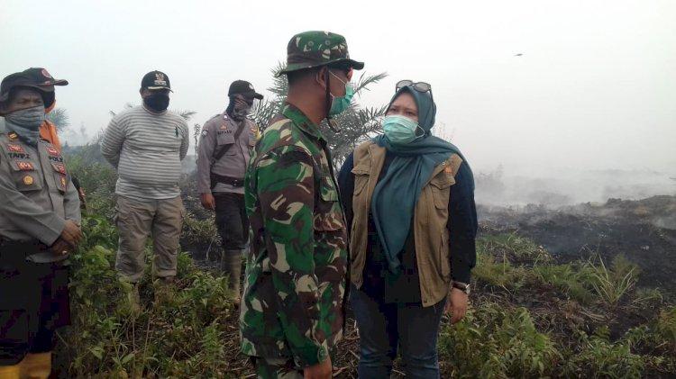 Karhutla Kian Sulit, Dandim BTH: Petugas Butuh Masker Oksigen