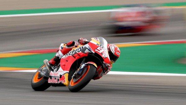 Marquez Juara MotoGP Arogon!