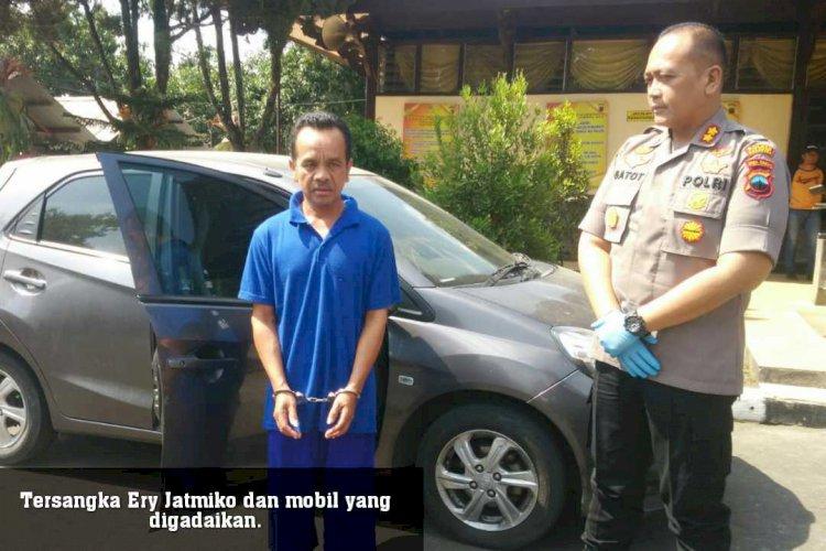 Gadaikan Mobil Lalu Kabur ke Jambi, Warga Tegalrejo Diringkus Polisi