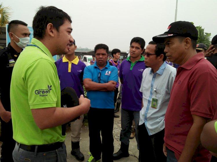 BREAKING NEWS! Karyawan Star Rubber Mogok, Perusahaaan Lumpuh Beroperasi