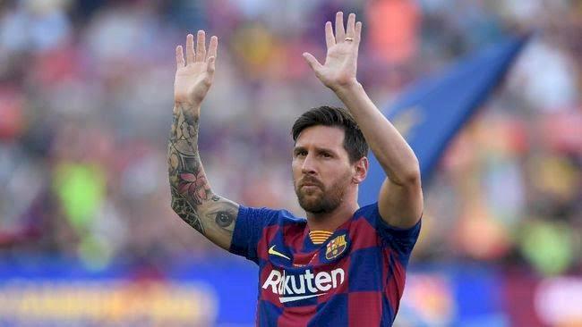 Messi Cuma Main Sebabak, Barcelona Menang