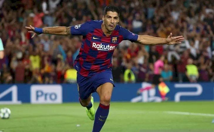 Suarez Antarkan Balik Barcelona Kalahkan Inter Milan 2-1