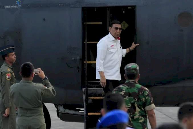 Menkopolhukam Wiranto Diserang Pria di Pandeglang
