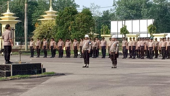 Terjerat Narkoba Hingga Pelanggaran Disiplin, Tiga Anggota Polres Tebo Dipecat