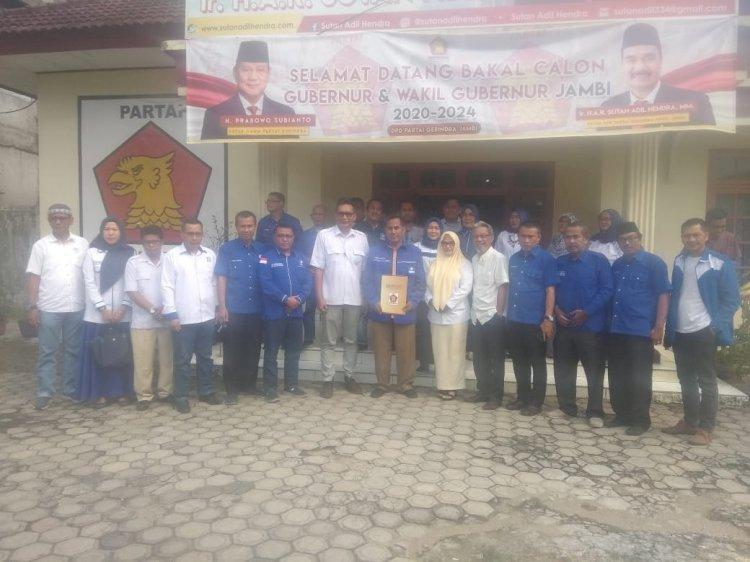 Lirik Gerindra, Bakri Utus Pengurus DPW PAN Ambil Formulir