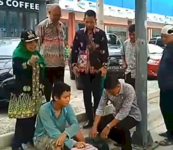 Heboh! Camat Pasar Jambi Mengamuk: Apa Kau Lakukan Nak, Siang Jadi Punk Malam Jadi Bencong