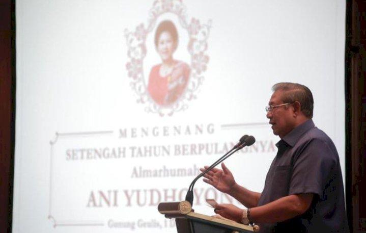 SBY Mengenang Ani Yudhoyono Melalui Akun Instagram dan Lagu Seruling di Lembah Sunyi