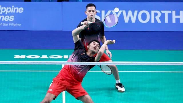 Duet Fajar-Rian Kalah, Indonesia VS Malaysia 1-1