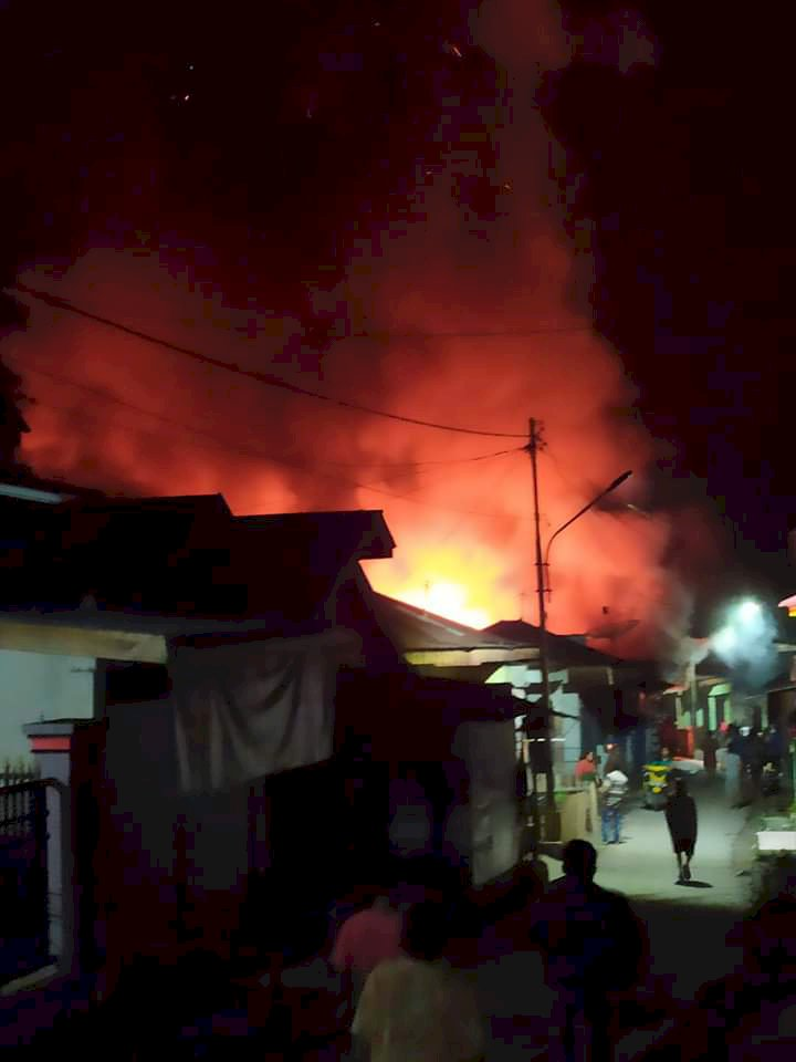 BREAKING NEWS!! Kebakaran Hebat di Siulak Deras Kerinci