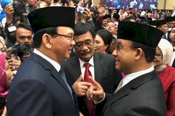 Publik Nilai Kinerja Ahok Lebih Bagus Ketimbang Gubernur Anies