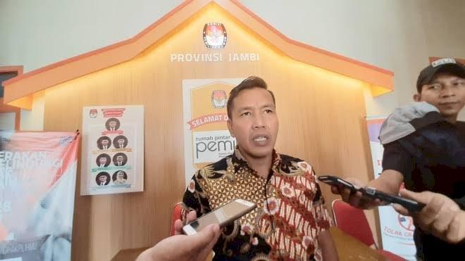 KPU Provinsi Jambi Pastikan Tunda 4 Tahapan Pilkada